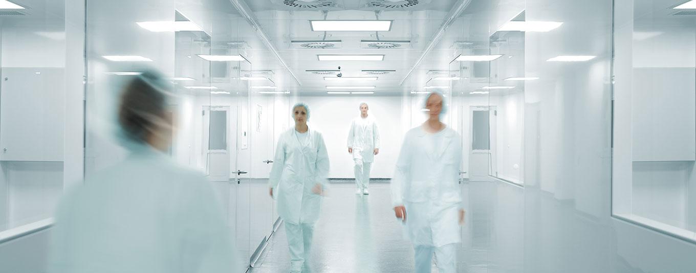 Krankenhaus-Slider