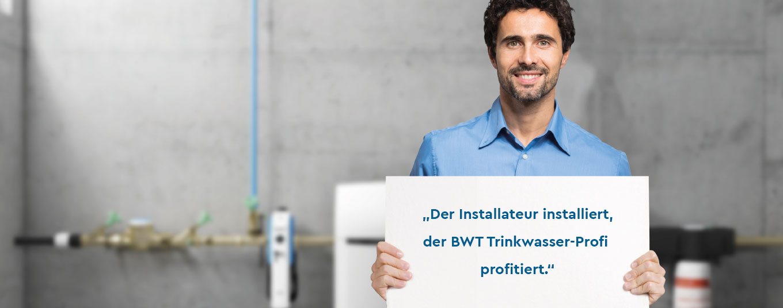 BWT-Trinkwasser-Profi